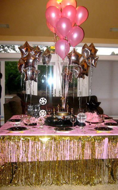 And The Oscar Goes To Teen girl birthday Girl birthday and
