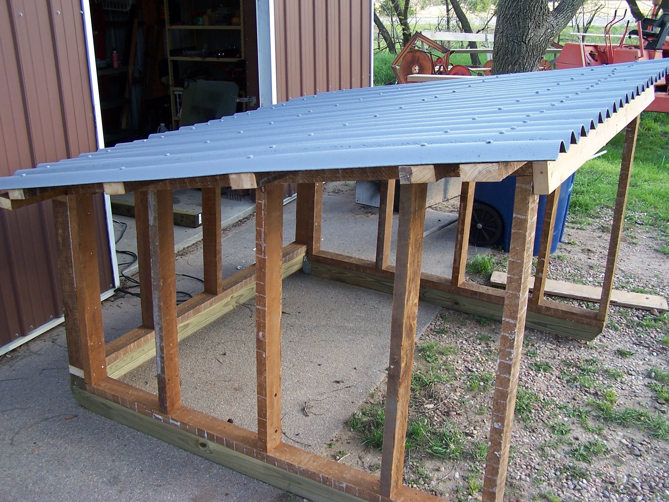 Chicken Coop Pig Shelter Milk Stand 011 Goats Goat