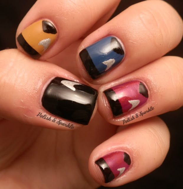 Were Partial To This Startrek Nail Art For One Particular Reason