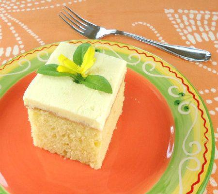 One Perfect Bite: Orange Blossom Sheet Cake