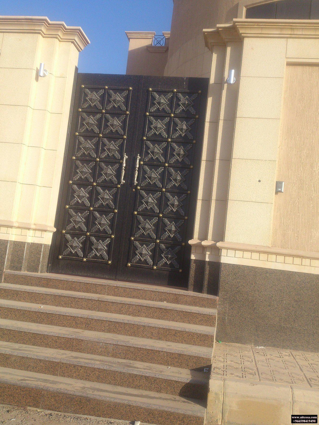 ابواب حديد خارجية 96659841490 Gate Design Iron Gate Design Unique House Design