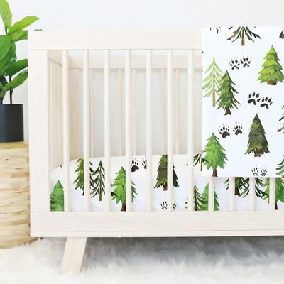 Photo of Woodland Trees Baby Bedding