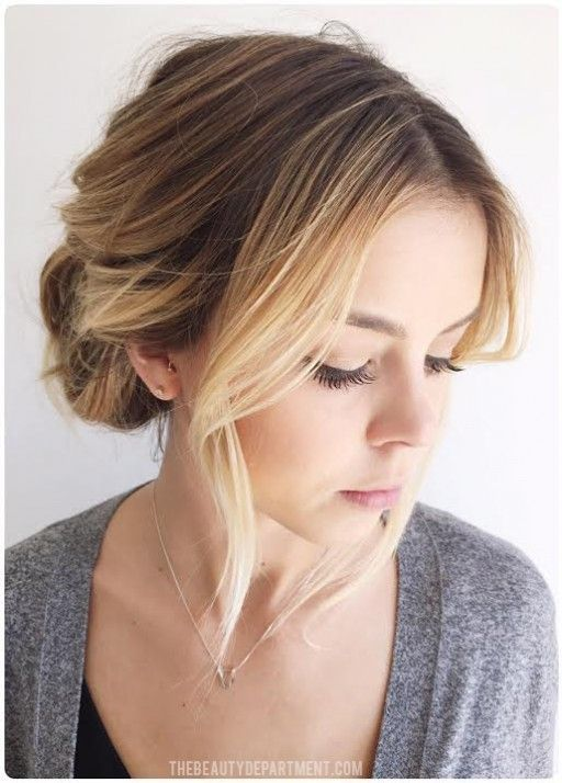 Easiest Updo Ever Pinterest Easy Updo Beauty Department And Updo