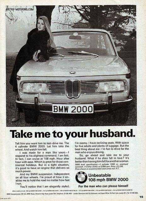 BMW 2000 advert