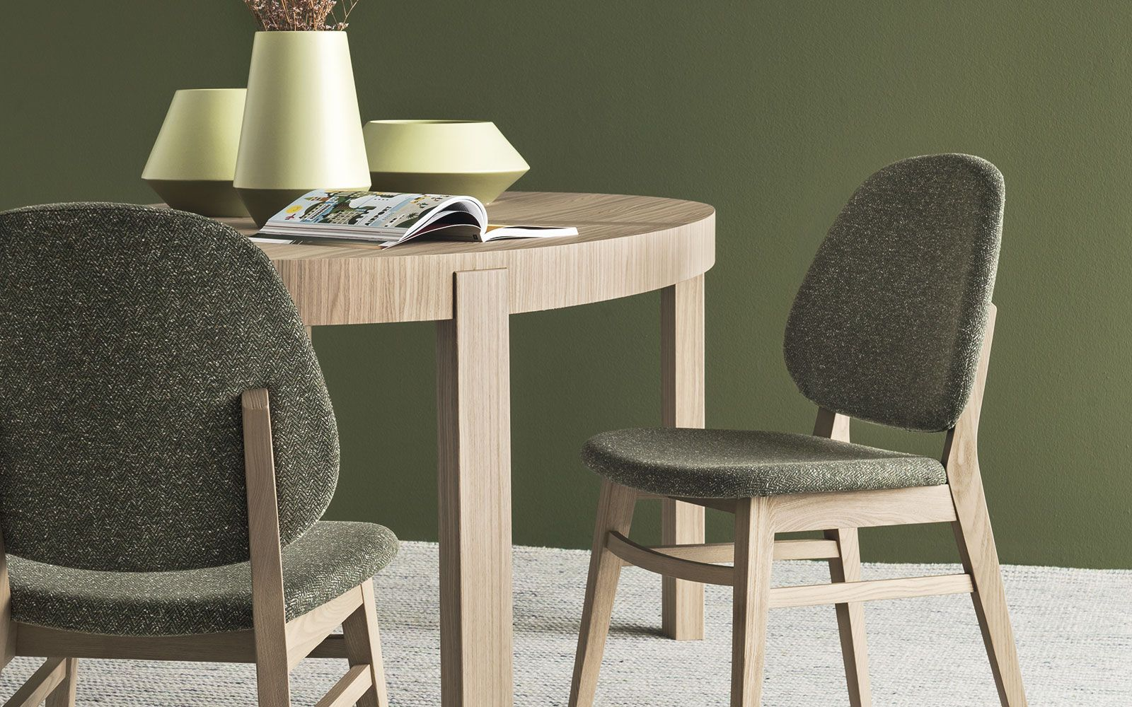 Super Wooden Chair Covered In Tweed Colette Calligaris Cs 1491 Lamtechconsult Wood Chair Design Ideas Lamtechconsultcom