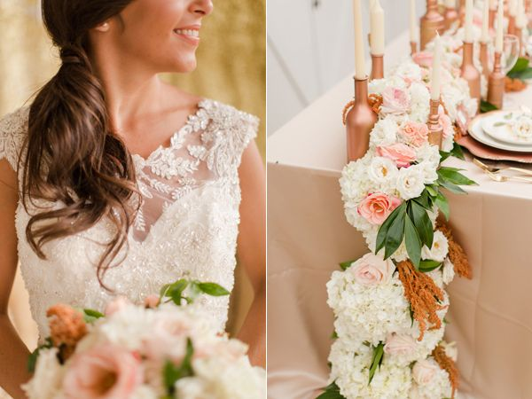 Rose gold wedding ideas rose gold weddings gold weddings and weddings rose gold wedding ideas junglespirit Images