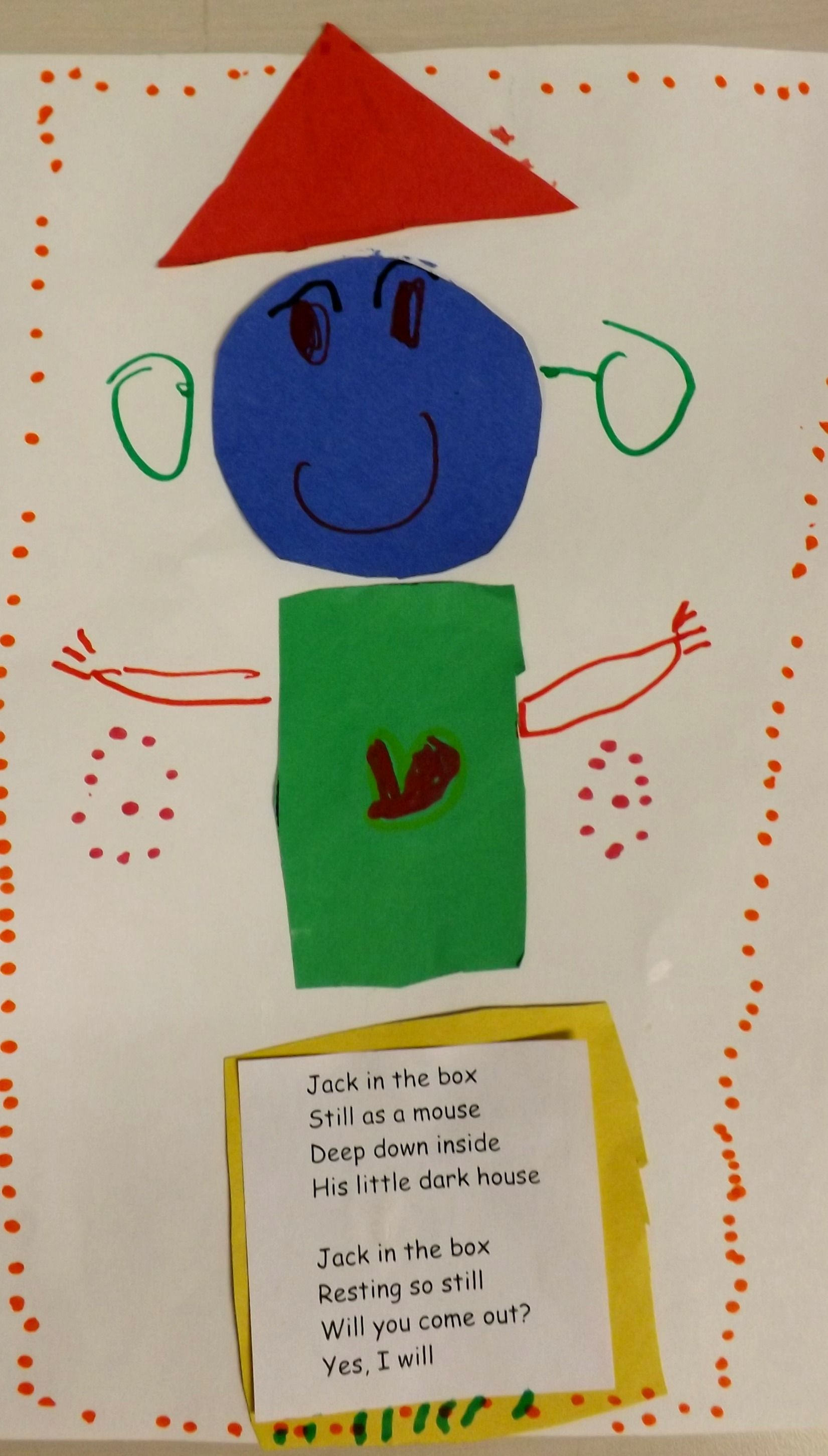 Learning Shapes And Colors Jack In The Box Still As A