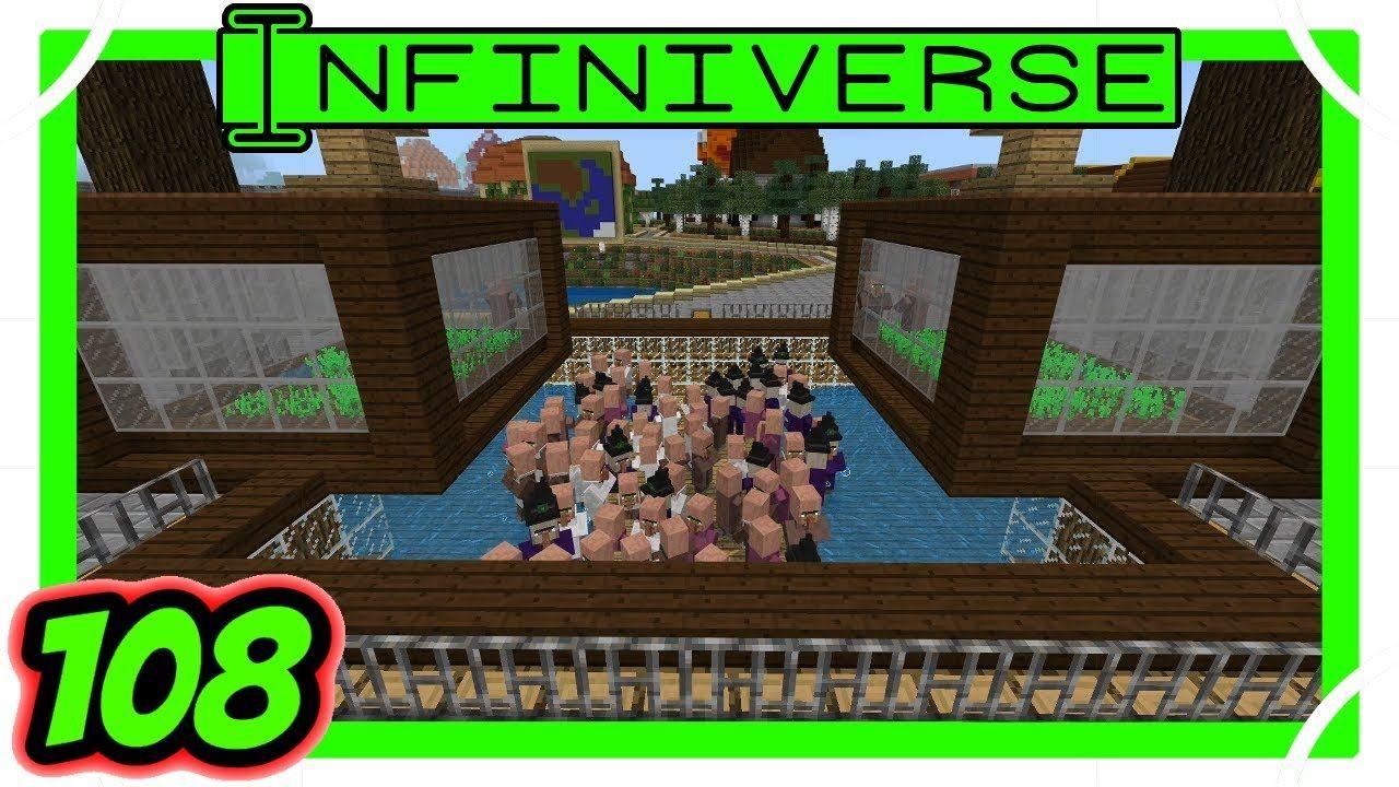 Villager Breeder Witch Iron Golem Farm 108 Minecraft