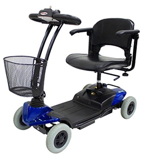 CTM  HS118  Lightweight Travel Scooter  4Wheel  Blue * Locate the offer simply by clicking the VISIT button