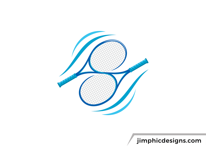 S Tennis Racket Logo Business Logo Design Tennis Branding Design
