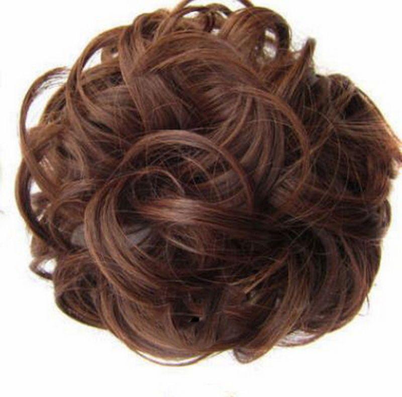 Messy Bun Hair Extensions Hair Piece Bun Pony Scrunchie
