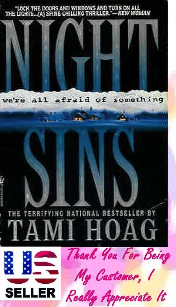 Night Sins By Tami Hoag 1995 Paperback Tami Hoag Favorite Authors Sins