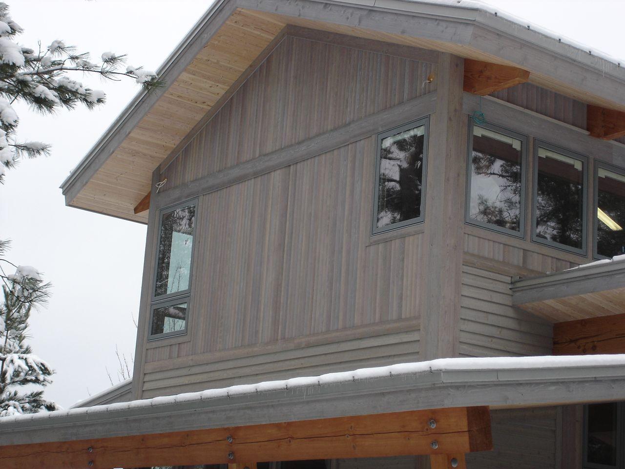 4 Select Cedar Square Edge T G Wood Siding Outdoor Decor Modern