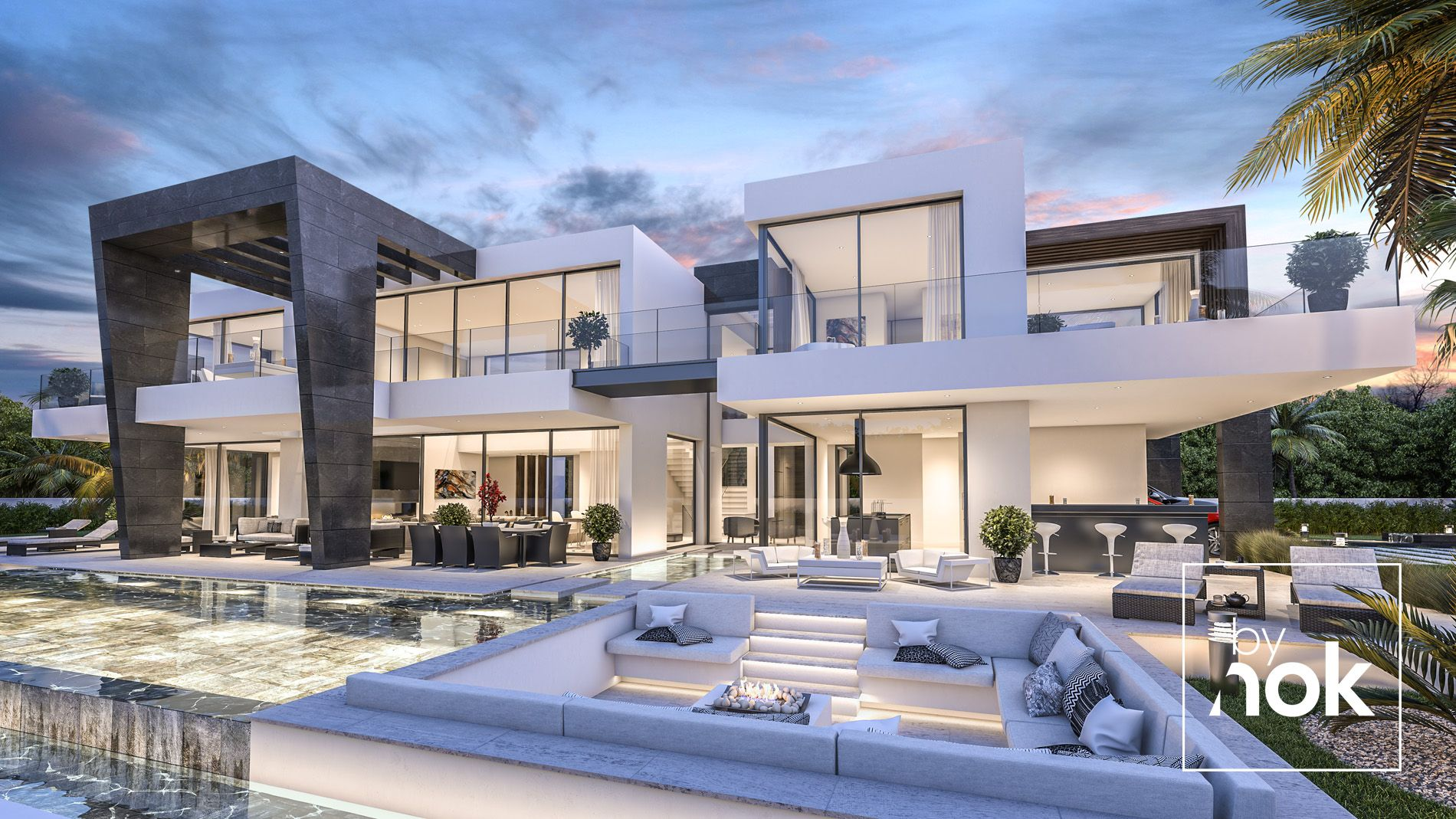 Dream villa by nok designed by kristinabrateng available for sale in belair urbanization estepona costa del sol