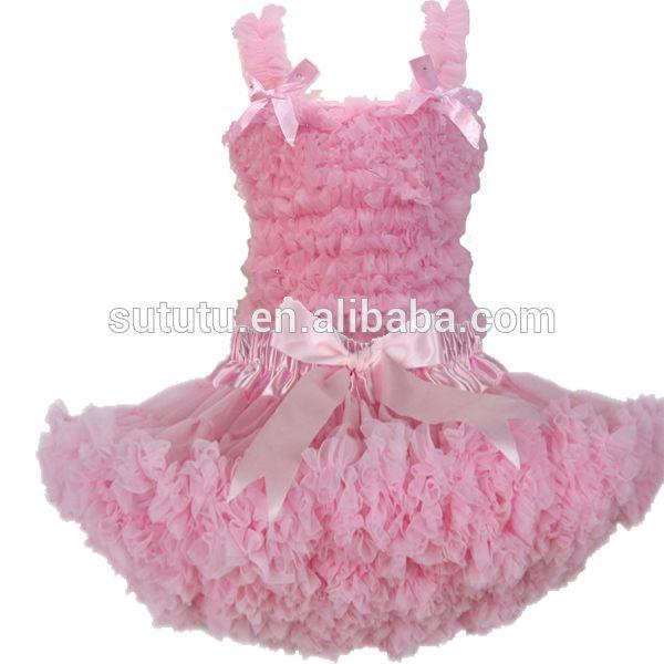 ab713a3fa bulk wholesale cheap tutu skirts sleeveless rainbow fluffy chiffon  pettiskirt with ribbon lovely baby girl's pettiskirt suit