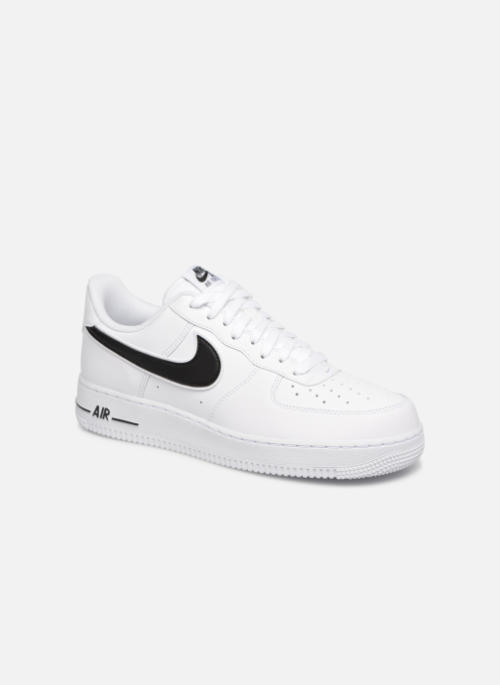 52504fcff91 Baskets Nike Air Force 1  07 3 Blanc vue détail paire  airforceone nike  af1 airforce1 sneakers baskets