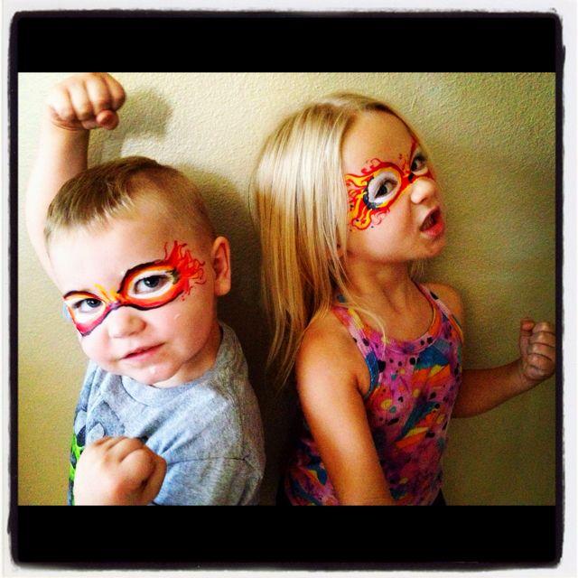 Fireman and Firegirl!