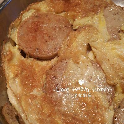 芊如廚房 (Chin Yu Kitchen): 越南扎肉煎蛋 (Vietnamese Sausage - Giò Lụa Omelette)