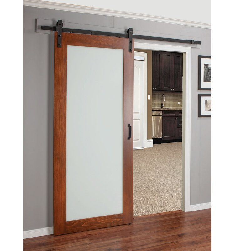Erias Home Designs Continental Glass Barn Door Glass Barn Doors Interior Barn Doors Barn Doors Sliding