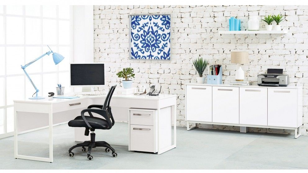 Epica Desk Set - Desks & Suites - Home Office - Furniture, Outdoor & BBQs - Epica Desk Set - Desks & Suites - Home Office - Furniture, Outdoor