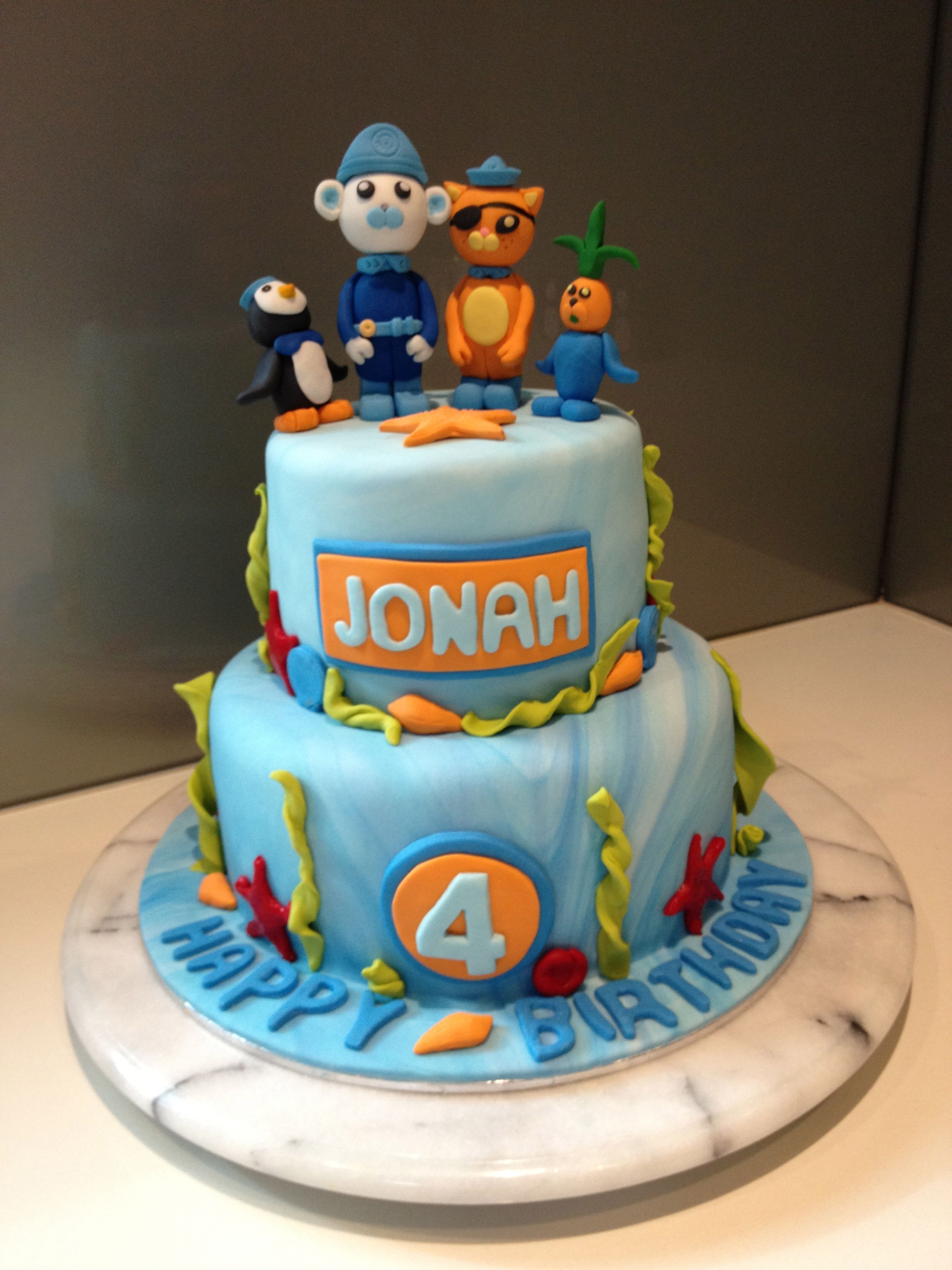 An Octonauts cake for my son's 4th birthday. | Cake ...