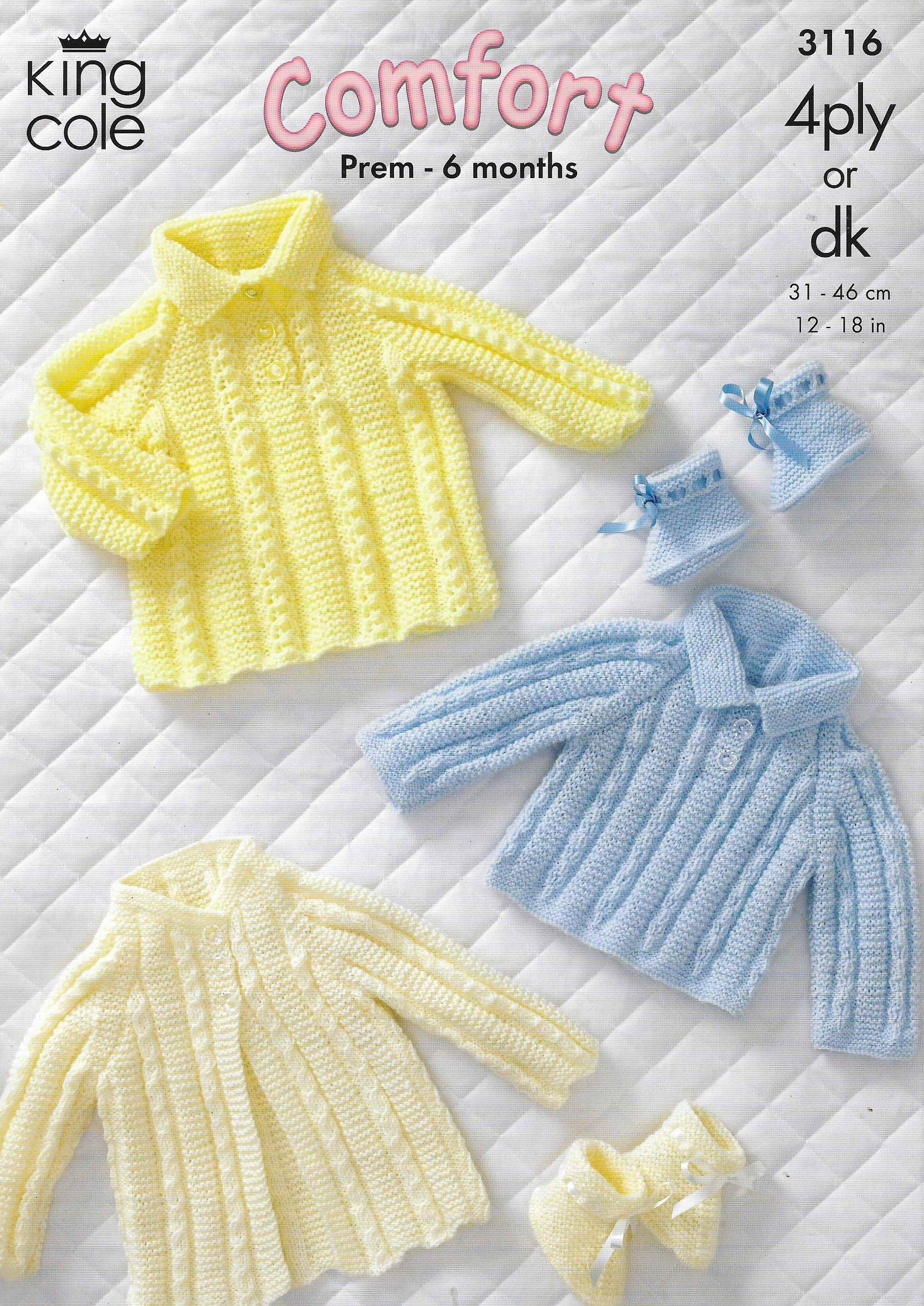 691d3d1dc Baby Cardigan Knitting Pattern Baby Coat Dress Newborn Cable ...