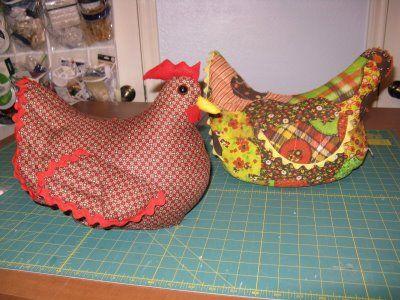 Susan Sews Chicken Doorstop Sewing Patterns For Kids Chicken Pattern Doorstop Pattern