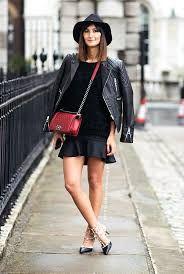 Bildergebnis für street style red bag
