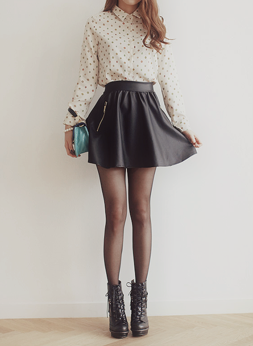 Carrie Circle Skirt - Black | Stylists, Circles and Stitches