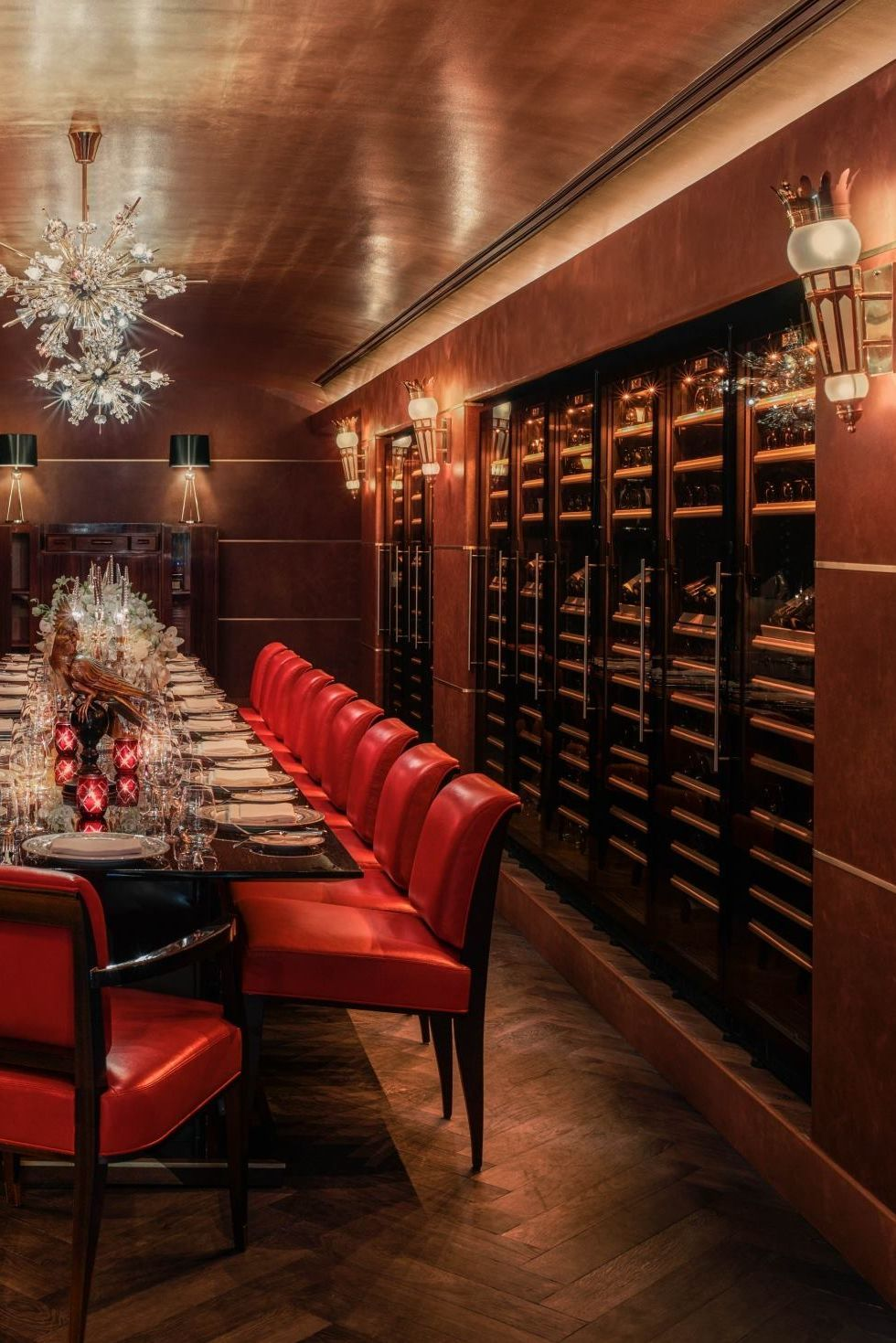 Who wouldnu0027t want to spend an evening in the beautiful wine cellar at Faena : wine cellar miami  - Aeropaca.Org