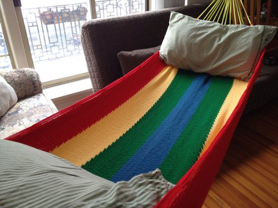 Medium image of handmade salvadoran style hammock  custom