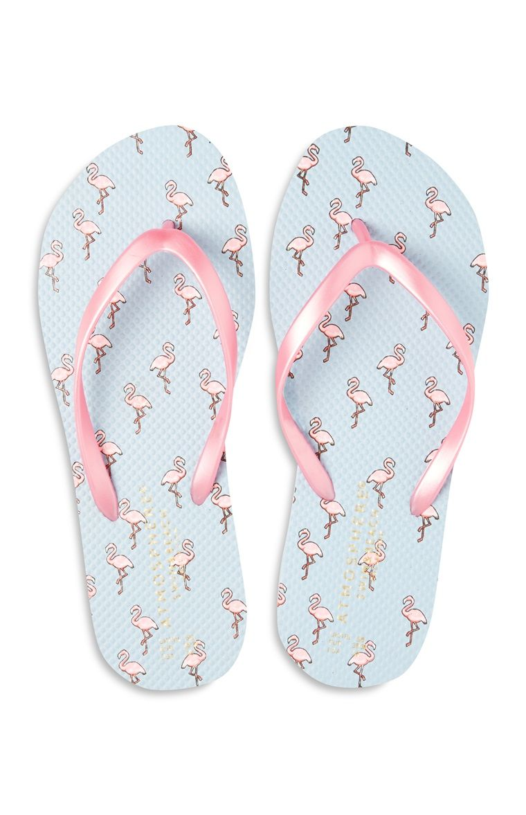 19d32a5a9c10 Roze teenslippers met flamingoprint Best Flip Flops