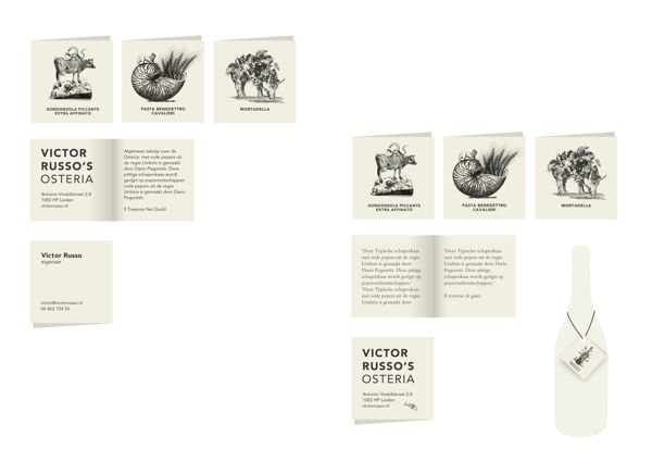 Victor Russo's Osteria on Behance