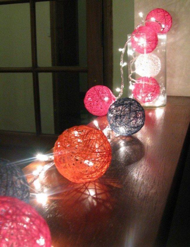 M s de 40 ideas para decorar con luces de navidad luces - Decoracion luces navidad ...
