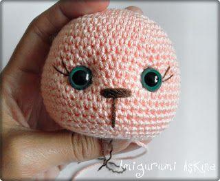 Amigurumi Learn : Amigurumi to lashes how i learn amigurumi tiny mini design