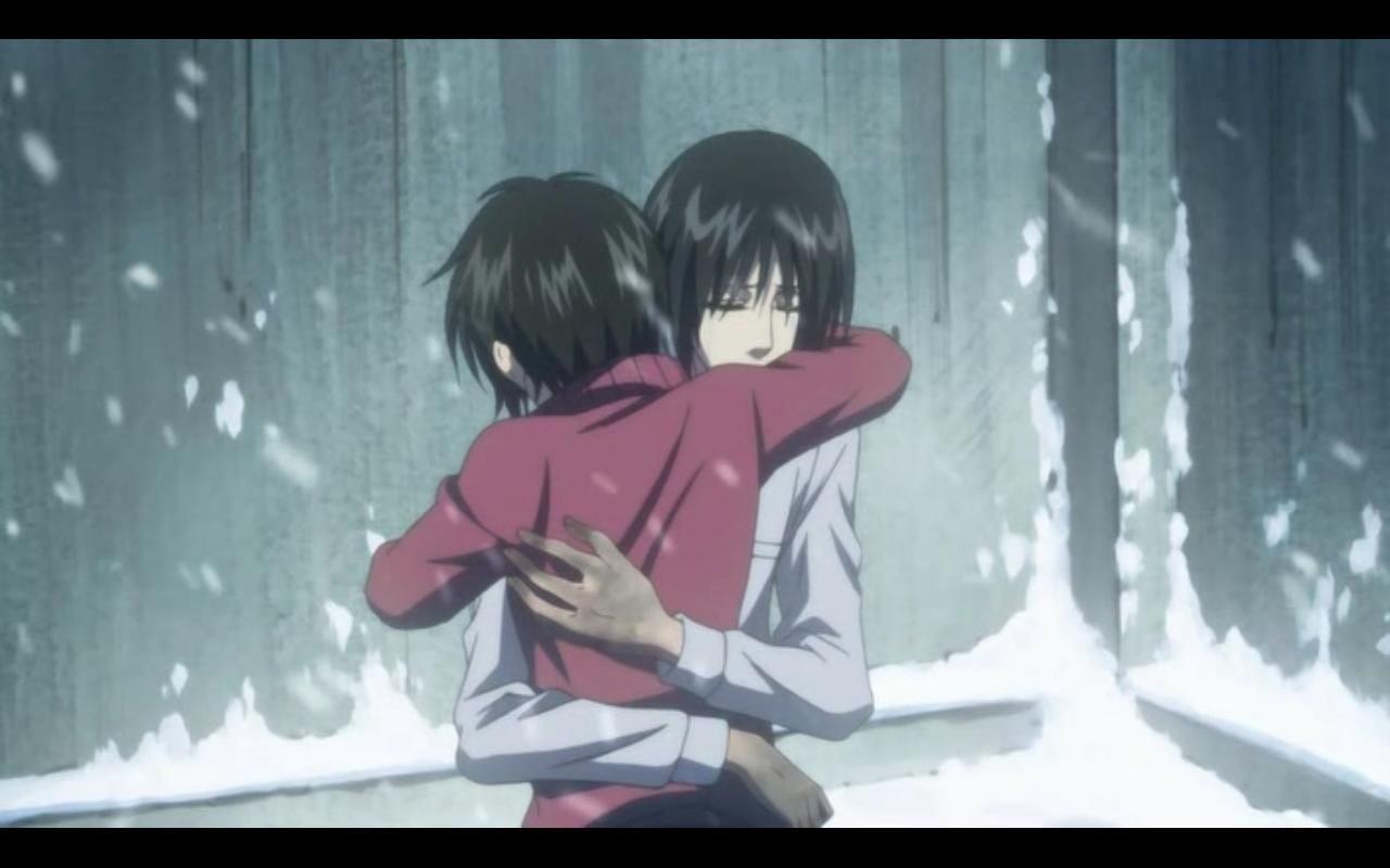 nabari no ou yoite x miharu | Anime | Nabari No Ou | Pinterest | Anime, Manga and Manga list Nabari No Ou Yoite And Miharu Kiss
