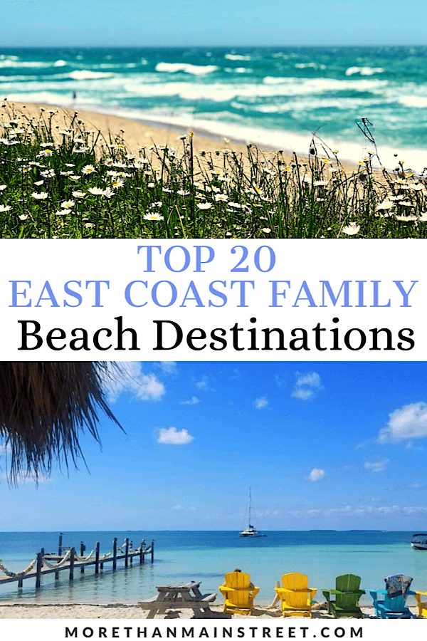 20 Best Family Beaches On The East Coast In 2020 East Coast Beach Vacation East Coast Vacation Best East Coast Beaches