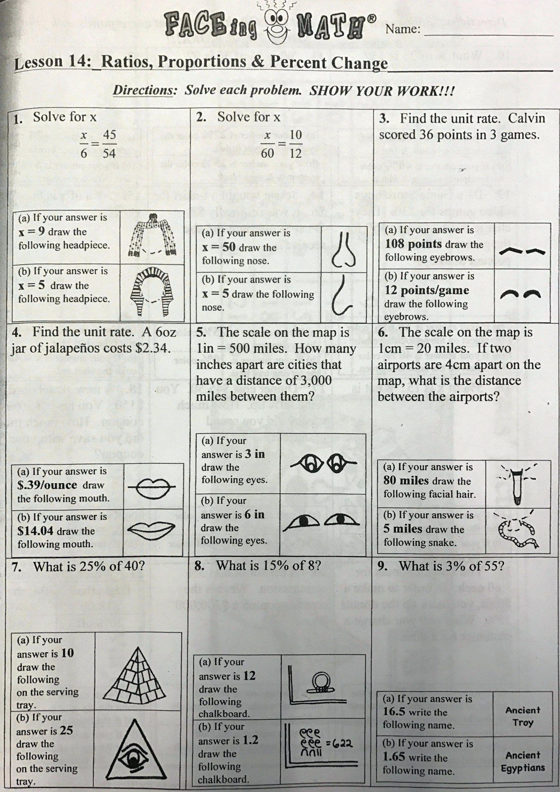 Faceing Math Printable Worksheets Worksheet For Prk Math Math Printables Reading Graphs Printable Worksheets