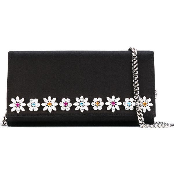 Giuseppe Zanotti Design Cleopatra Daisy Clutch Bag Featuring Polyvore Women S Fashion Bags Handbags