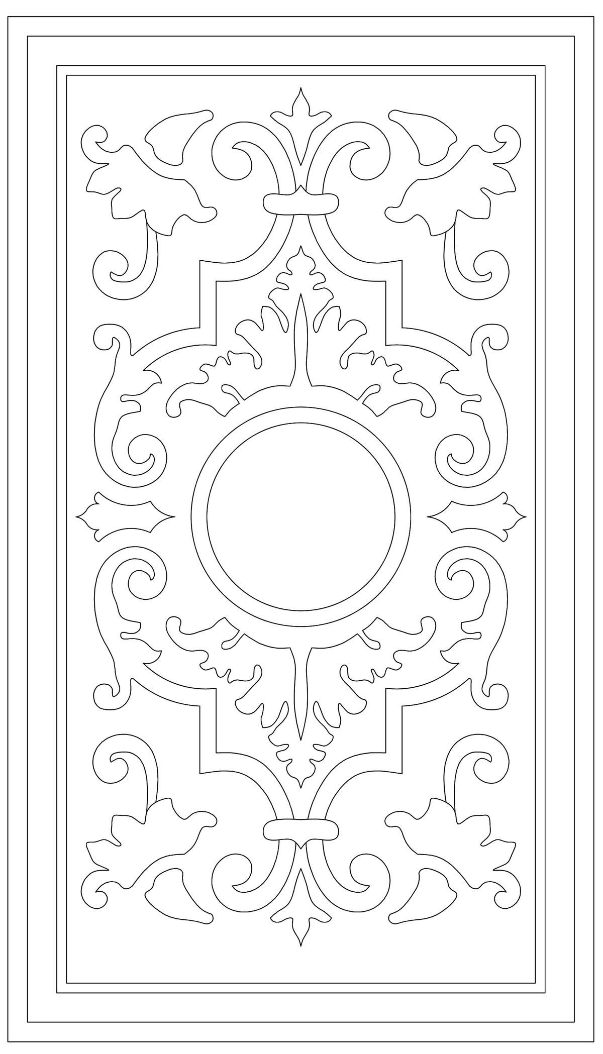Pin By Andrzej Matuszak On Drawings Stencil Patterns Stencil Designs Stencil Pattern