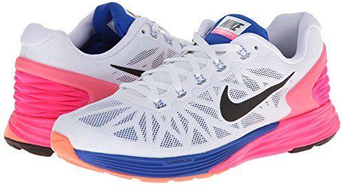 Nike Women's Lunarglide 6 Running Shoe Nike's Lunarglide series offers an  ever-improving marriage of style and performance. A clean aesthetic  disguises the ...