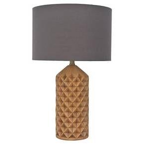 Carved Wooden Lamp Nate Berkus Target Grampain