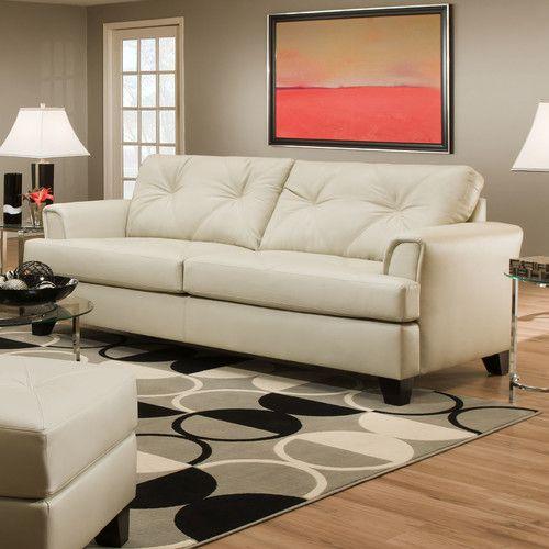 Best Found It At Wayfair Bentley Queen Sleeper Sofa White 640 x 480
