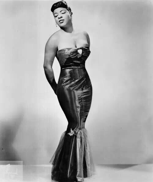 LaVern Baker born Nov. 11, 1929 she was a Jazz, Blue and R&B Vocalist. photo of Brown Girl Collective