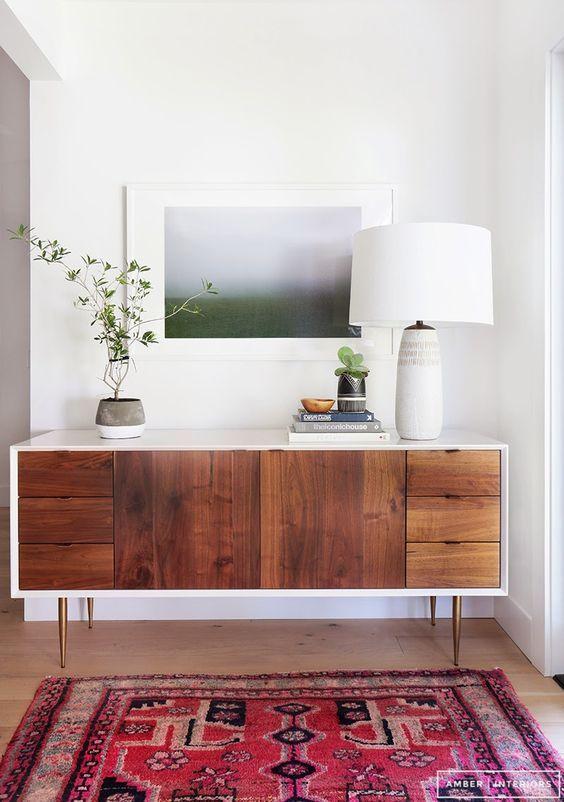 Midcentury Modern Entryway Styling Living Room Decor Modern