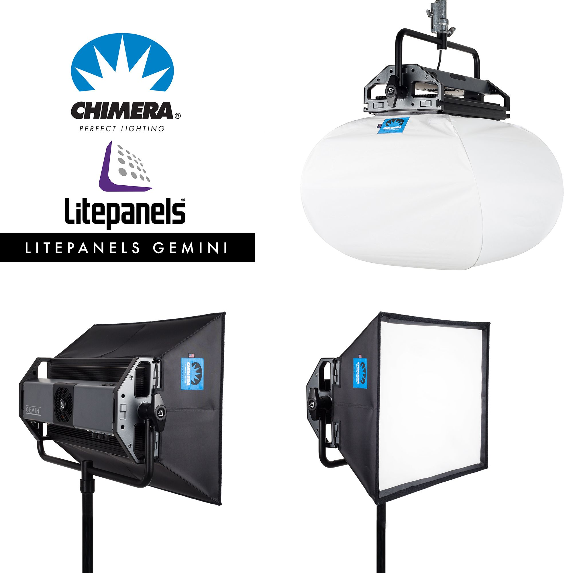 Chimera Lighting Will Introduce A Frameless Lightbank And Lantern For The Litepanels Gemini At