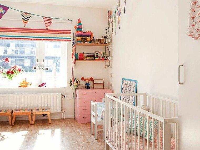 25 idées déco chambre bébé de style scandinave | Kids rooms ...