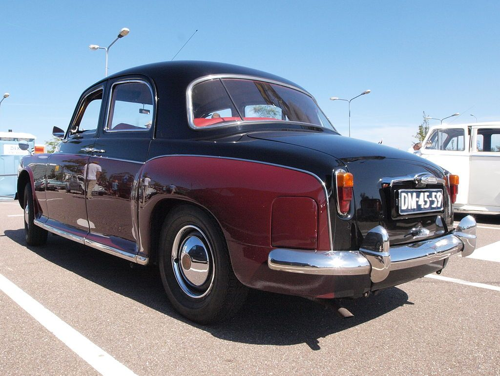 Rover P4 DM-45-59 pic4 - Rover P4 - Wikipedia, the free encyclopedia ...