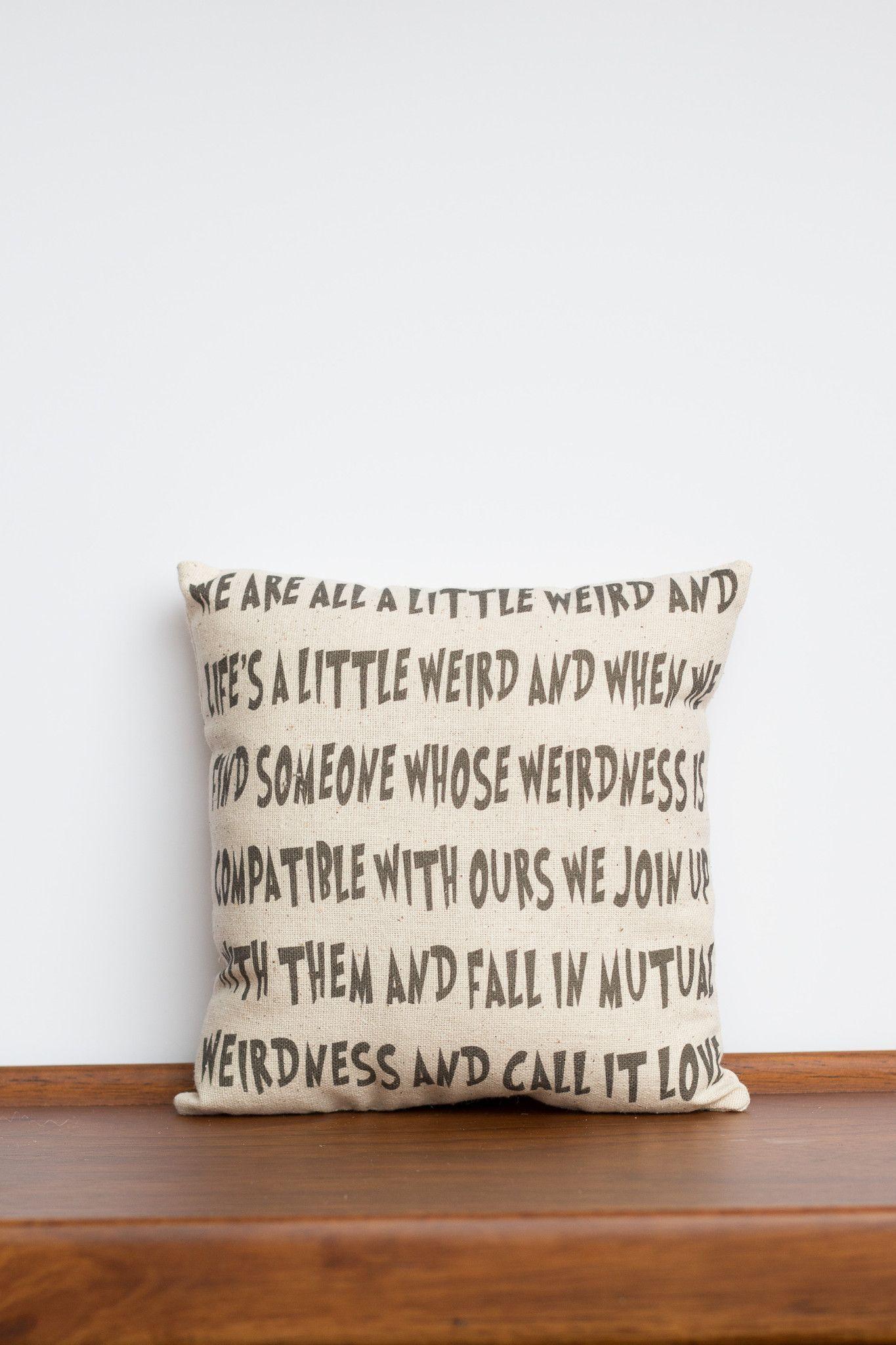 dr seuss mutual weirdness decorative pillow funny