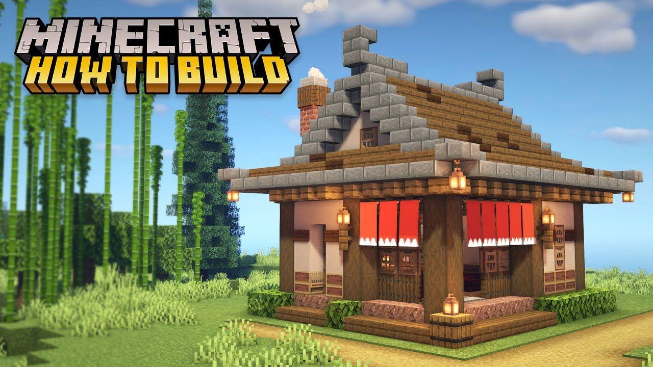 Minecraft: How To Build A Japanese Ramen Shop Restaurant